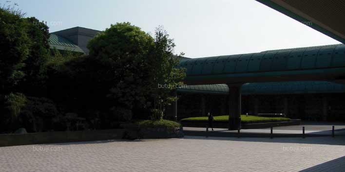 府中の森市民聖苑-式場棟